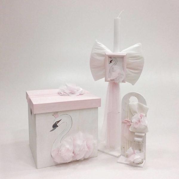 Pink swan elena manakou vaptisi